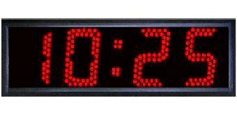 """Alltime Big, 5""""  LED Digital Industrial Time Clock"""