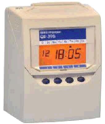 Seiko QR395 Calculating Time Clock with running totals