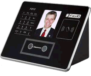 Big Hanvon Face and Swipe card  FaceID model F910